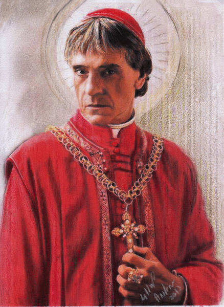 Jeremy Irons as The Pope