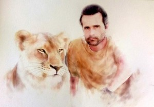 kevin and lioness