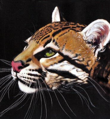 OCELOT ACRYLIC ON CANVAS